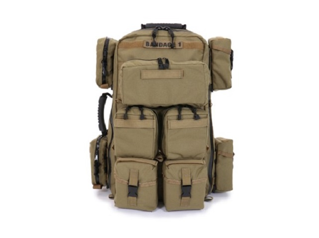 R&B Fabrications TACTICAL MEDICAL BACKPACK W/POUCHES