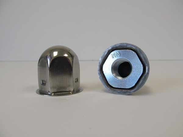 Chrome Lug Nut Cover