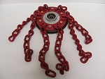 Chain Wheel Assembly, 190mm Left