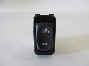 American LaFrance Rocker Switch - Q2B Siren Brake