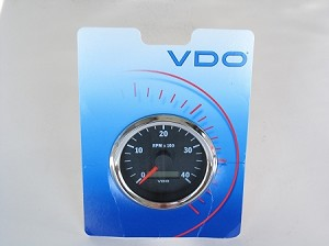 VDO Tachometer with Hourmeter